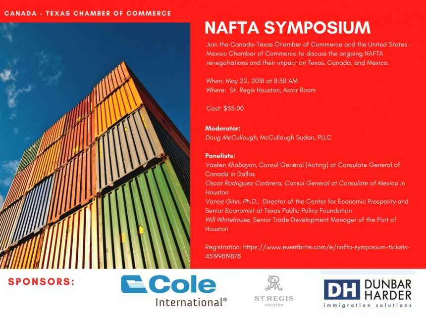 Houston, Join us for our May 22 NAFTA Symposium