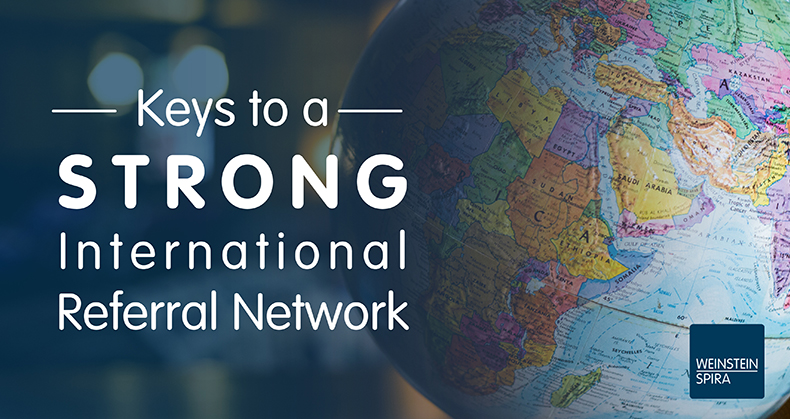 Keys to a Strong International Referral Network