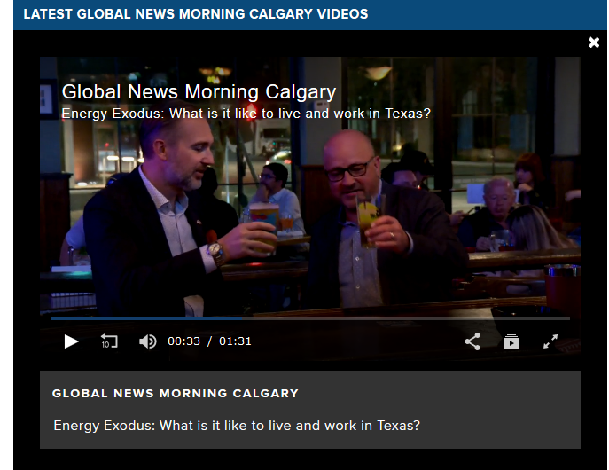 Jim Mochulsky on Global News Morning