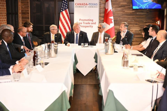 Discussion with Ontario Premier Doug Ford and Minister of Economic Development, Victor Fedeli