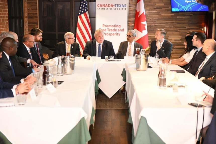 News Release: Discussion with Ontario Premier Doug Ford and Minister of Economic Development, Victor Fedeli